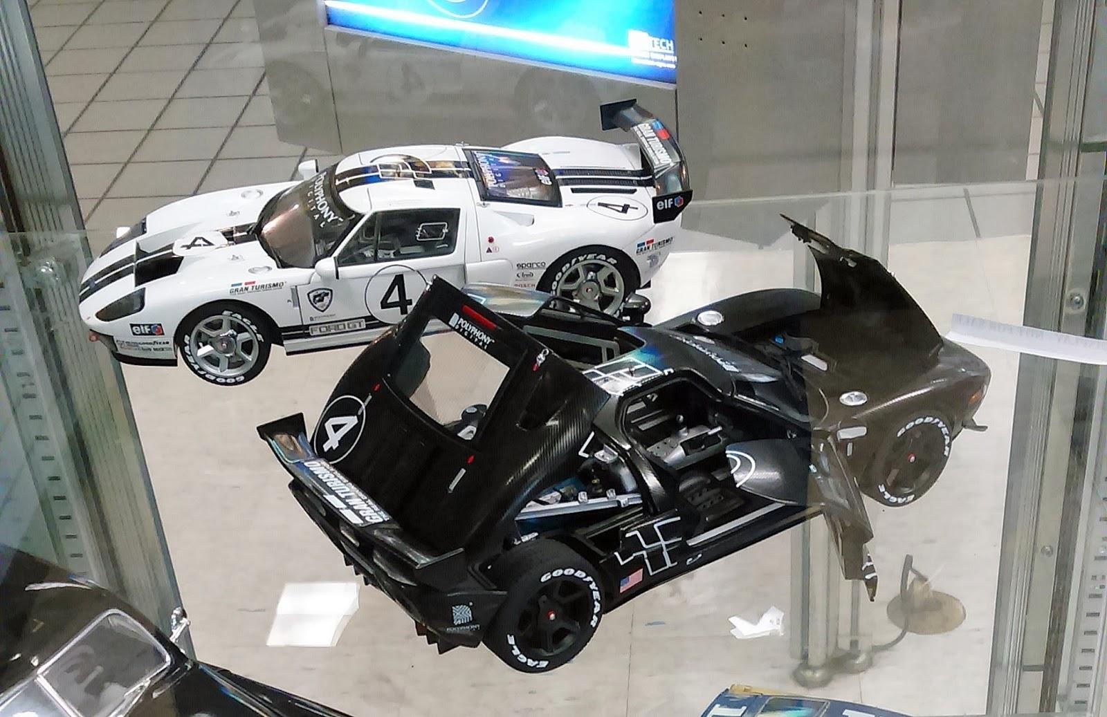 Autoart Ford Gt Lm Spec Ii Test Carbon Fiber