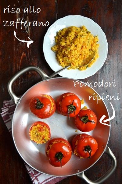 The green paprika & paprika: country kitchens & pomodori ripieni ...