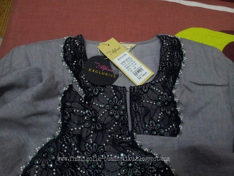 WW   Baju Raya Gray Color