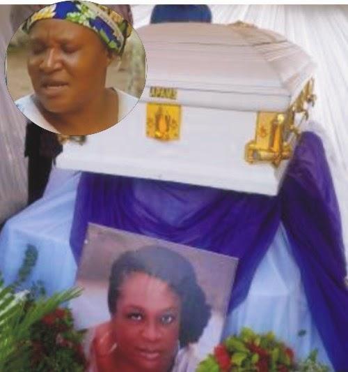 ngozi nwosu faints amaka igwe burial