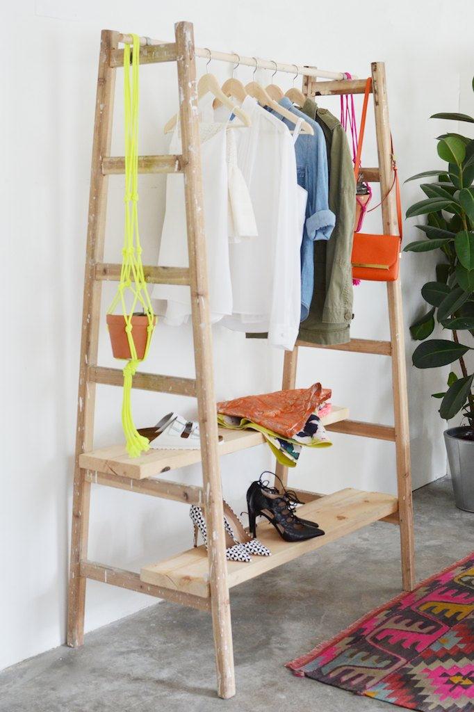 Deco-friendly   Mobiliario D.I.Y con escaleras
