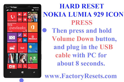Hard Reset Nokia Lumia 929 Icon