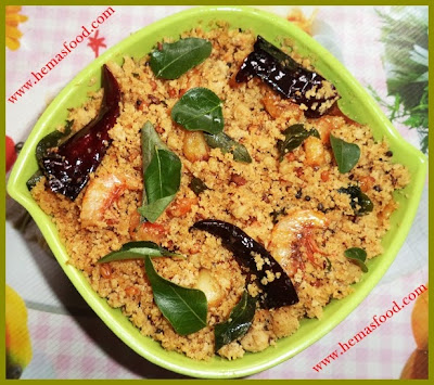 Sesame Flour & Dry Prawn Curry