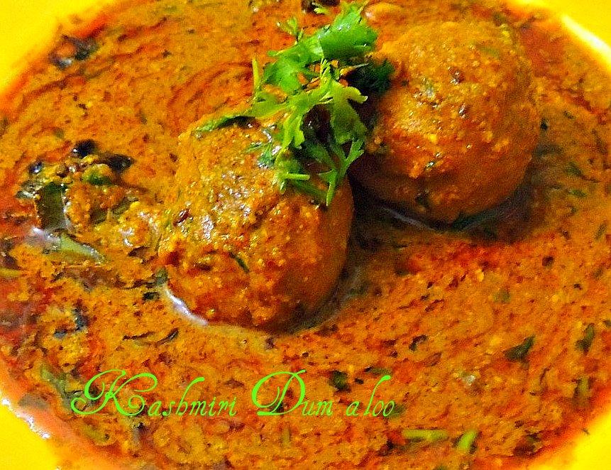 FoodyBlog: Kashmiri Dum aloo