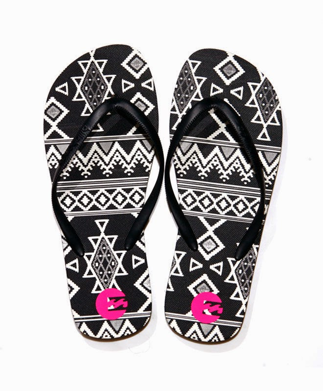 ed27a73541e ... extensive range of ladies flip-flops in an eye dazzling array of colours  and styles.Hot foot it down to Billabong and be ready for the heat this  Summer.