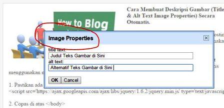 Image Properties SEO Gambar Blog