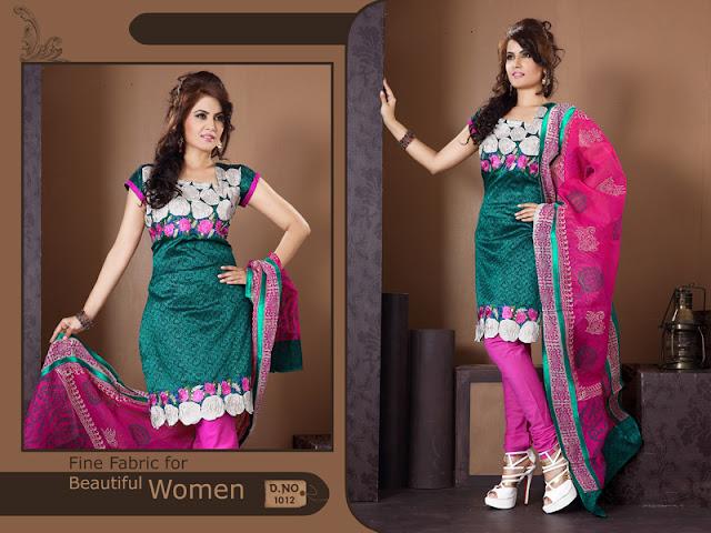 Unstitched embroidery salwar kameez Dress Materials, Unstitched Embroidery Suits, embroidery salwar kameez dress material