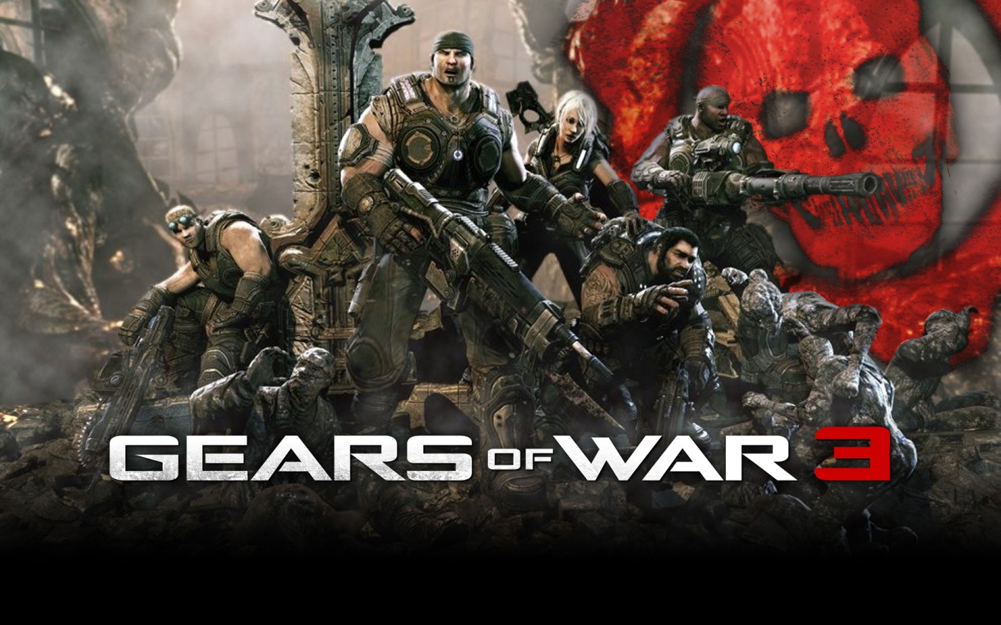 Gears of War HD & Widescreen Wallpaper 0.722743199363604