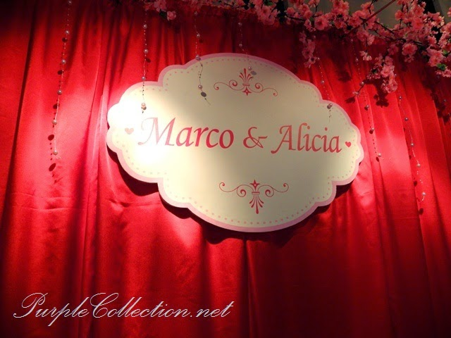 photo booth, sakura, cherry blossom, red, pink, gold, theme, wedding decoration, holiday inn kuala lumpur, glenmarie, subang, shah alam, decorator, online, website, package, affordable, pearls, foam board