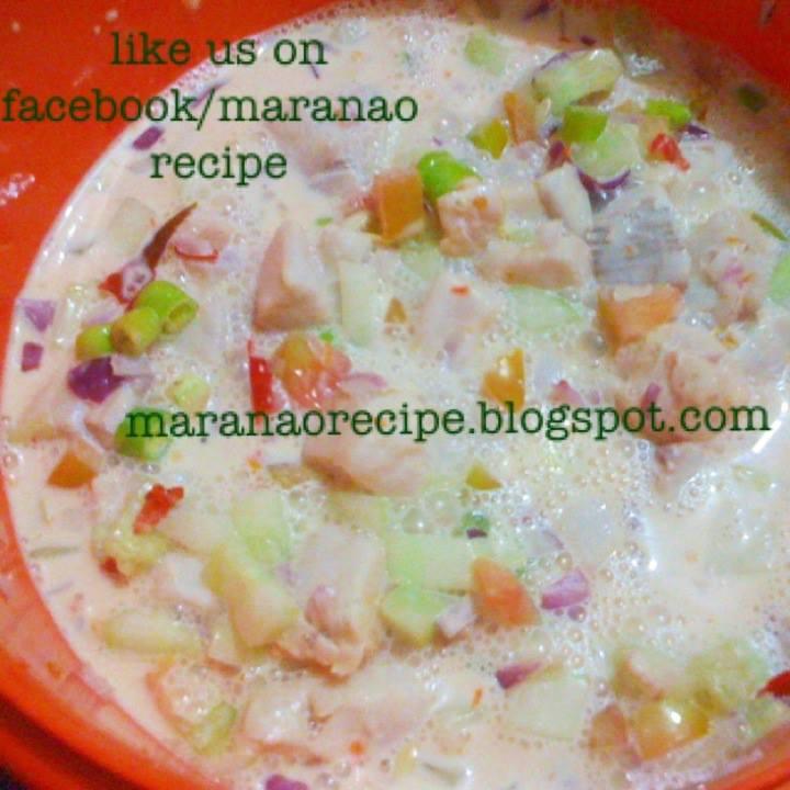 Maranao recipe kinilaw na tanigue forumfinder Choice Image