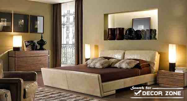 Cool Upholstered Bed Italian Bedroom Furniture