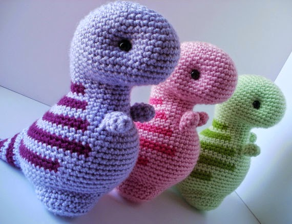 The Perfect Hiding Place A Crochet Dino Pattern Review