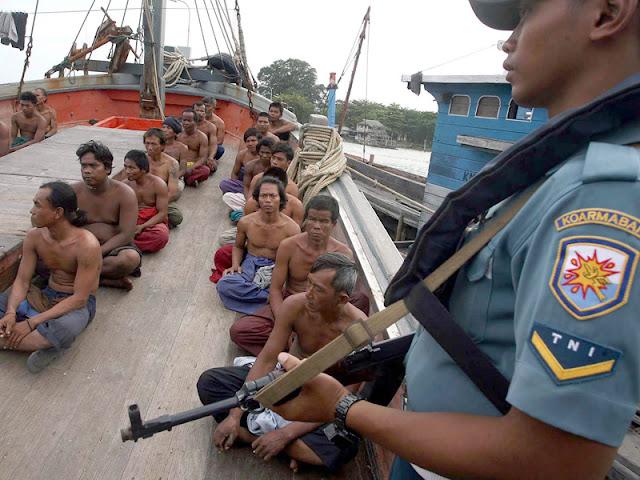 Pencurian ikan,  Indonesia  Merugi  Rp 30 Triliun Pertahun