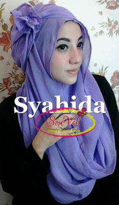 Model 2. Hijab Pashmina Modern Instan image