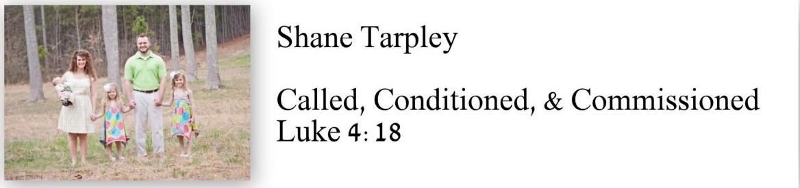 Shane Tarpley