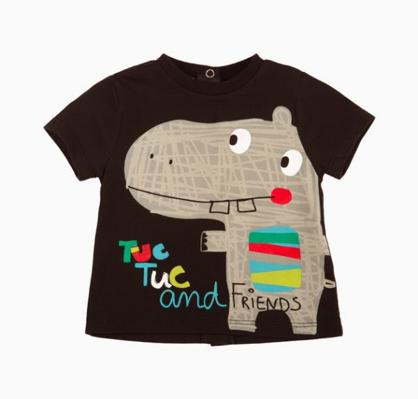 Boys Summer T-shirt  Tuc Tuc