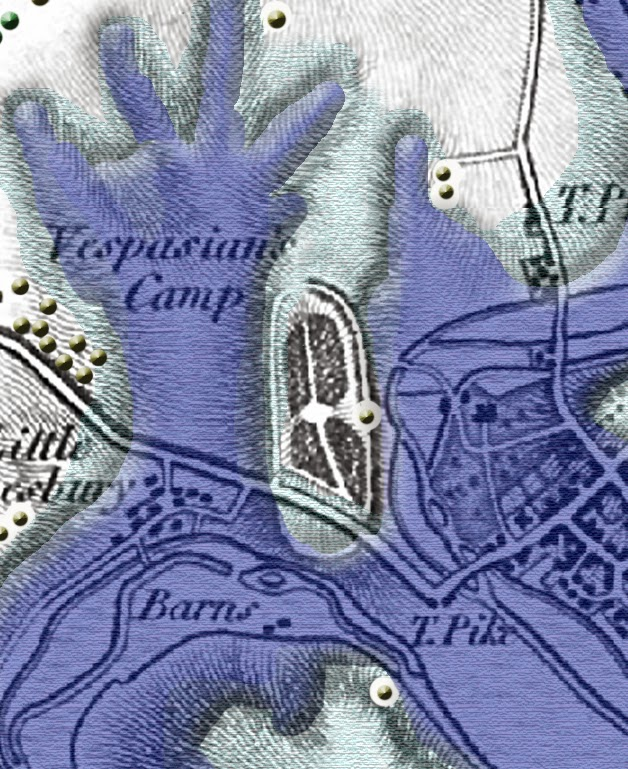 Prehistoric Vespasian Map