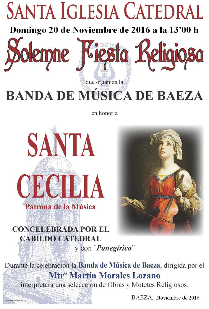 SANTA CECILIA 2016 - MISA