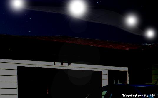 Huge UFO Flies Over Missouri Home