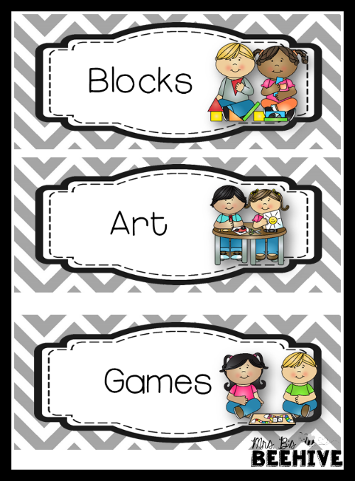 http://www.teacherspayteachers.com/Product/Labels-for-Centers-1627791