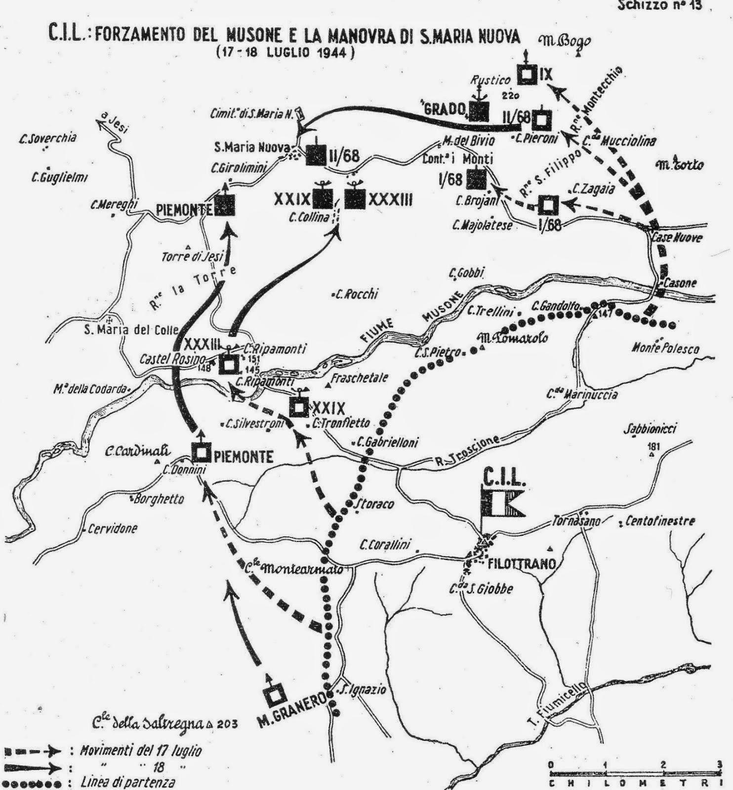 17 luglio 1944. Corpo Italiano di Liberazione