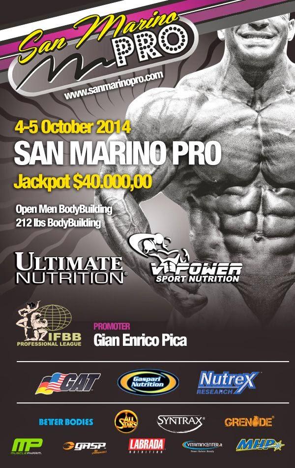San Marino PRO IFBB