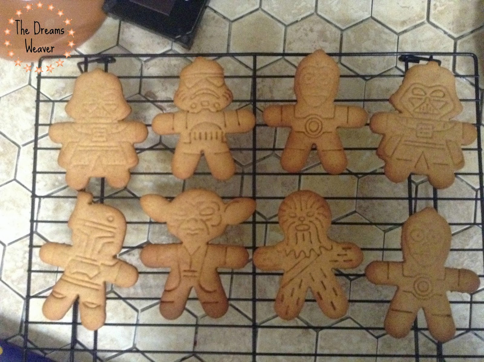 Gingerbread Men Cookies~ The Dreams Weaver