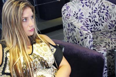 Grasse Becerra Grasse becerra la chica de los ojos lindos nuevamente en Lima Vedettes.