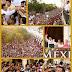 Más de 50,000 yucatecos acompañaron a Rolando para celebrar su primer año de gobierno
