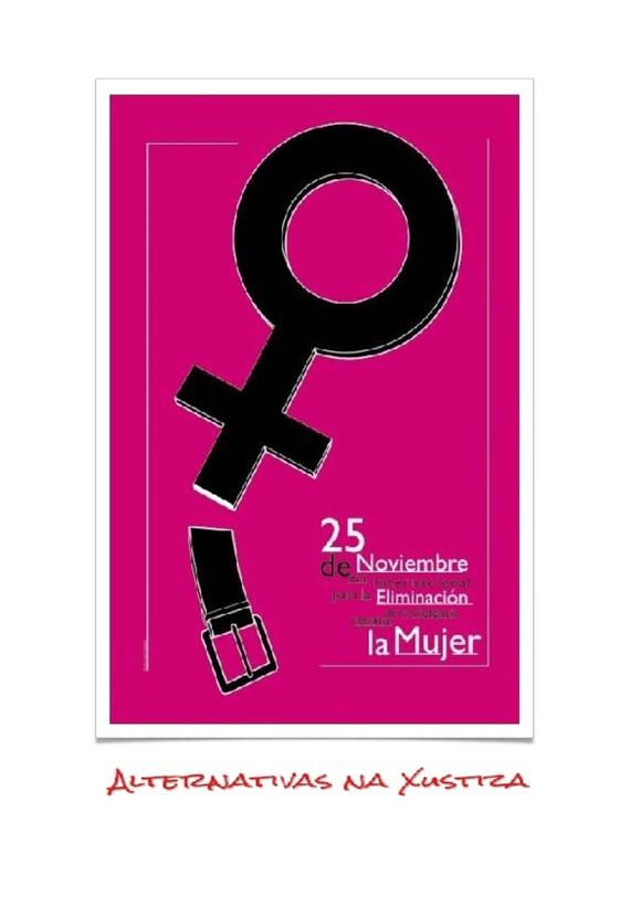 25 de novembro dia da non violencia contra a muller