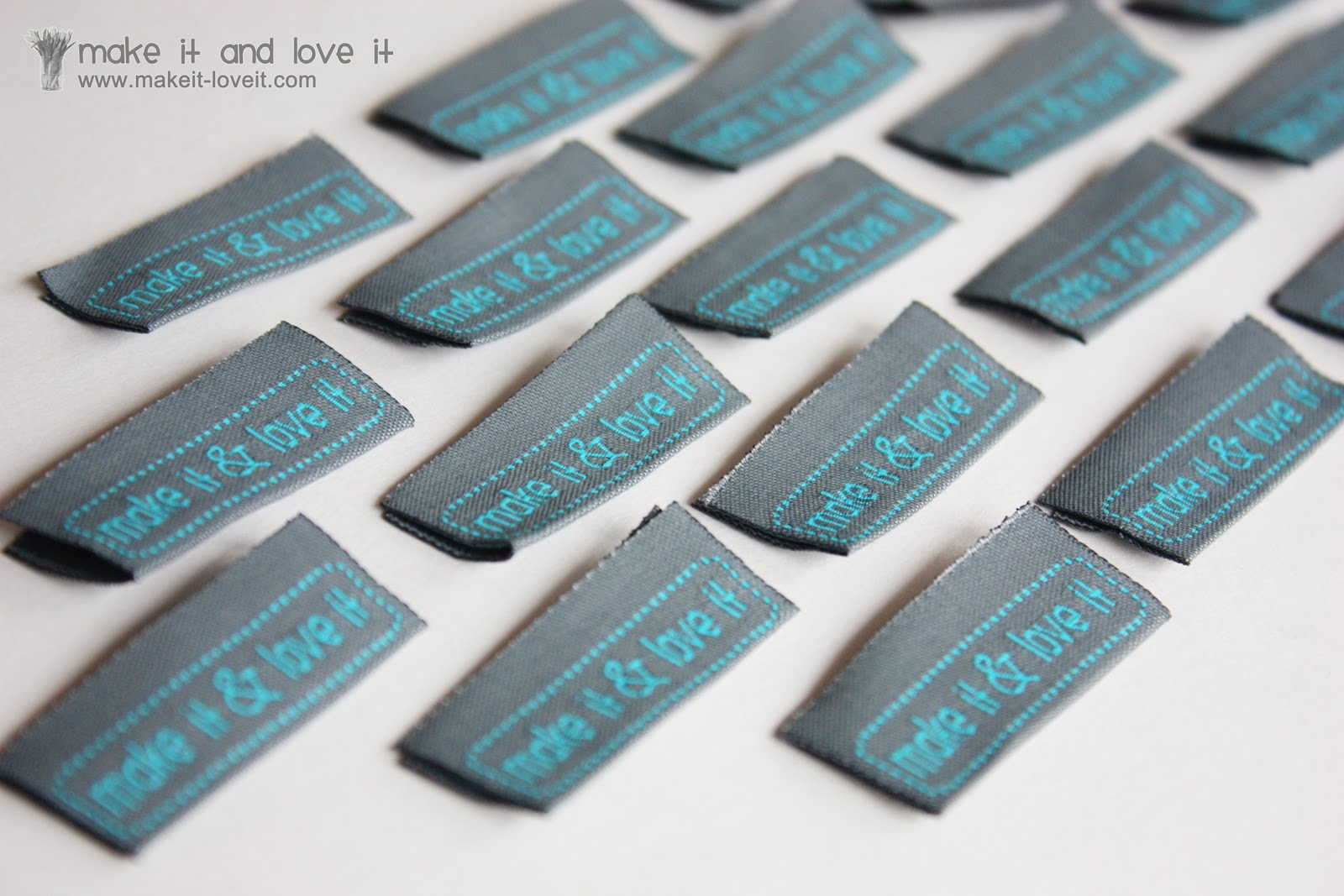 Clothing labelsby the 10039s make it and love it for How to sew labels on clothes
