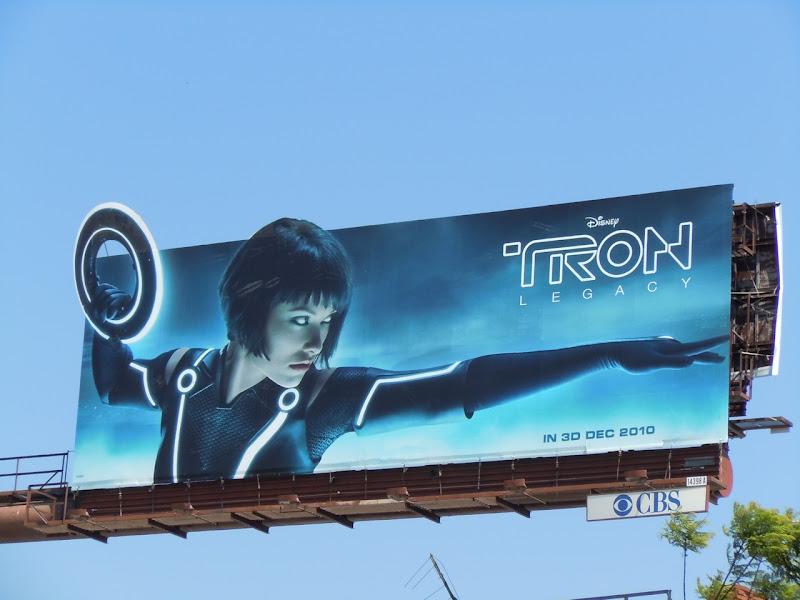 Tron Legacy Quorra billboard