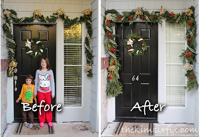 Attractive The Example In That Post Was The Garland Around My Front Door. It Was  Assembled And Illuminated Just Like I Explained Above: