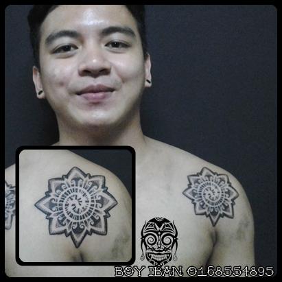 pengayau ink tattoo the artwork ii. Black Bedroom Furniture Sets. Home Design Ideas