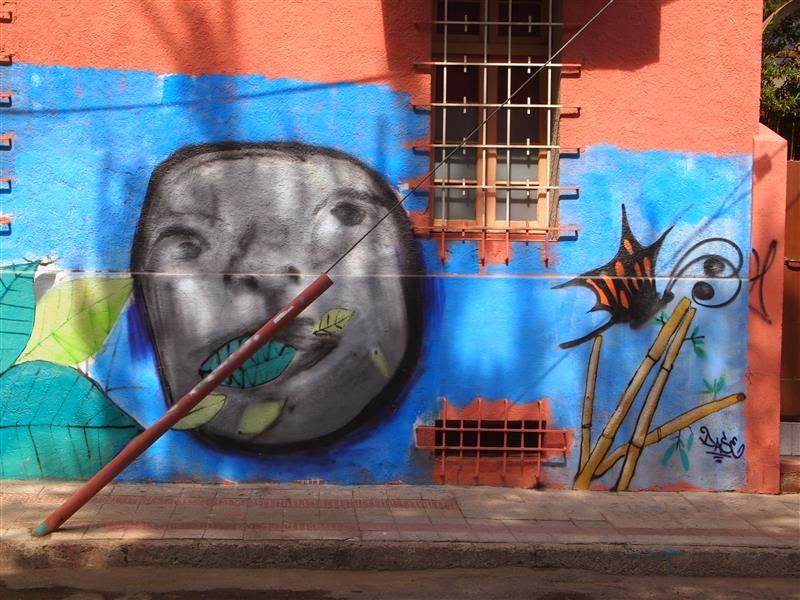 Mural en Bellavista (Santiago de Chile)