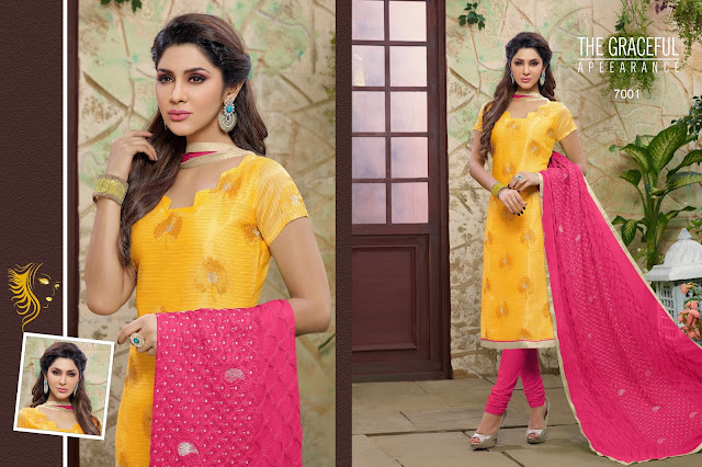Magic Vol – 7 – Chanderi Cotton Dress Materials Buy Exporter