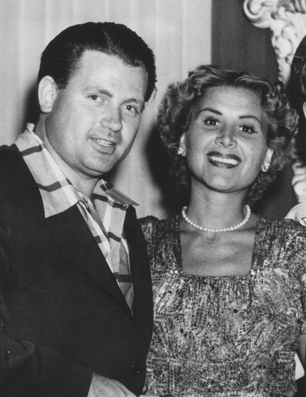 Rose Marie with husband Bobby Buy...the love of her life.