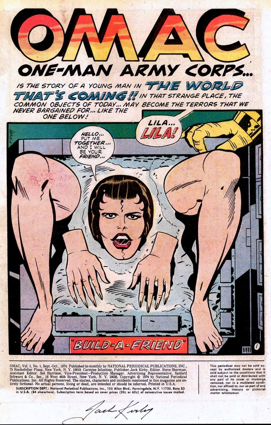 [Comics] The All New All Different Club Literario de Psicomics - Página 7 Omac-1-jack-kirby-3