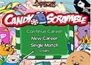 adventure time candy scramble juego
