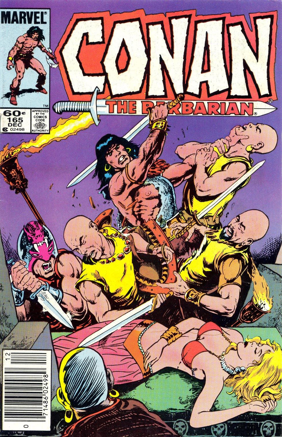Conan the Barbarian (1970) Issue #165 #177 - English 1