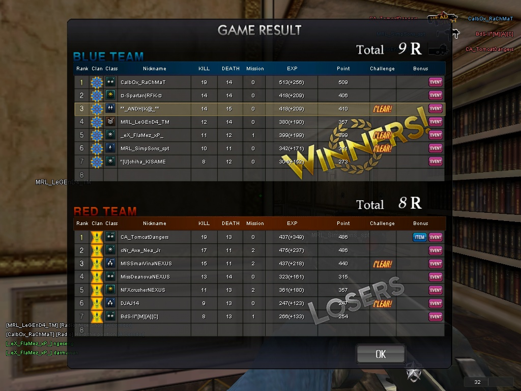 Mission Card Lebaran Point Blank 2012