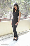 Alekya Photos in Black at Aa Aiduguru Press meet-thumbnail-16