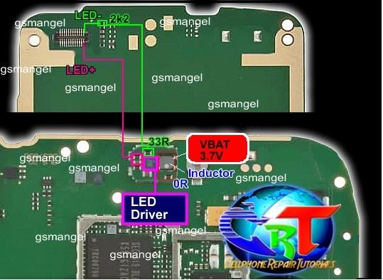 Схема телефона nokia x2-01