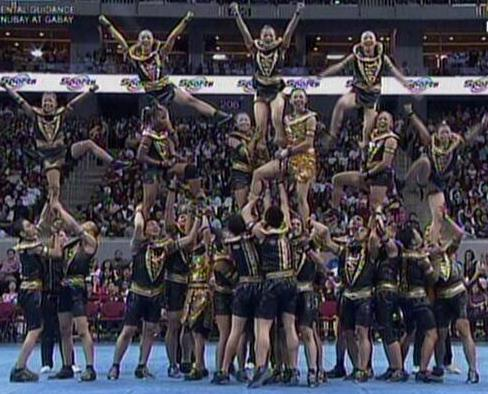 UAAP Cheerdance Competition 2013 - UST Salinggawi Dance Troupe