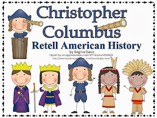 http://www.teacherspayteachers.com/Product/A-Christopher-Columbus-History-Retelling-Cards-and-Word-Wall-338260