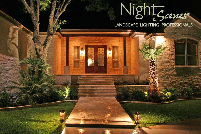the allan block blog lighting options for your outdoor spaces