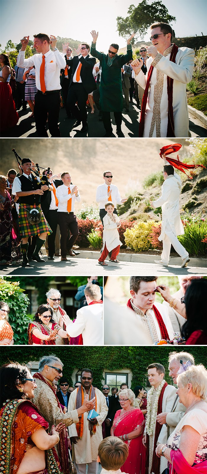 San Martin wedding Indian Bharat ceremony Clos LaChance Winery