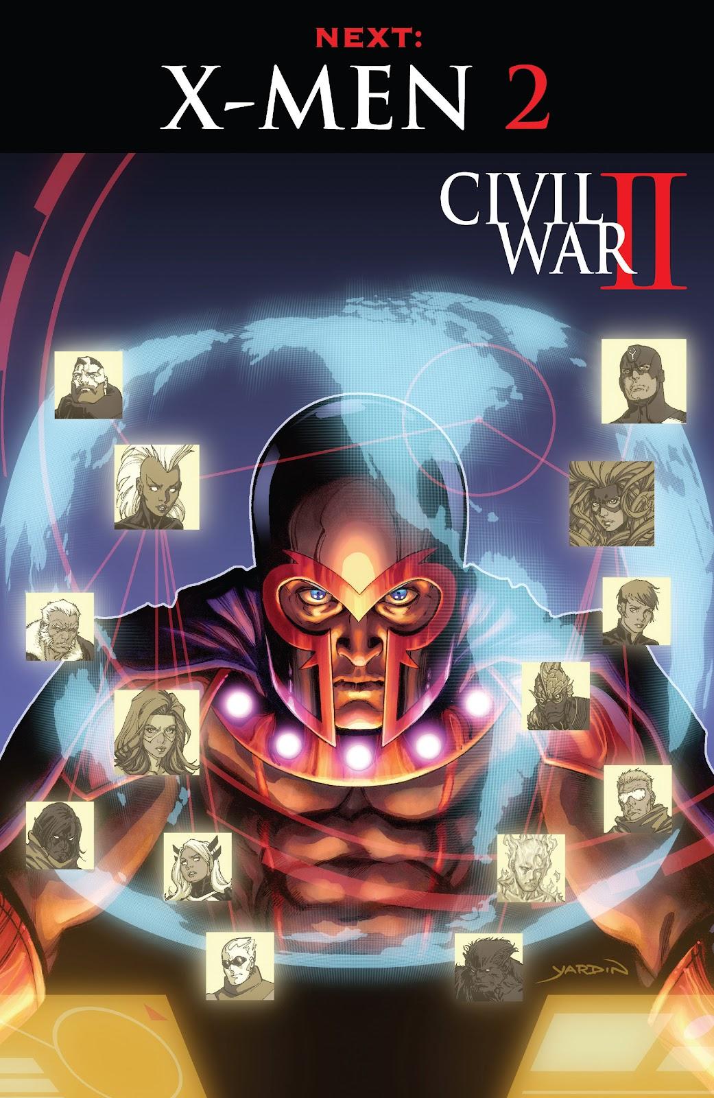 Civil War II: X-Men Issue #1 #1 - English 27