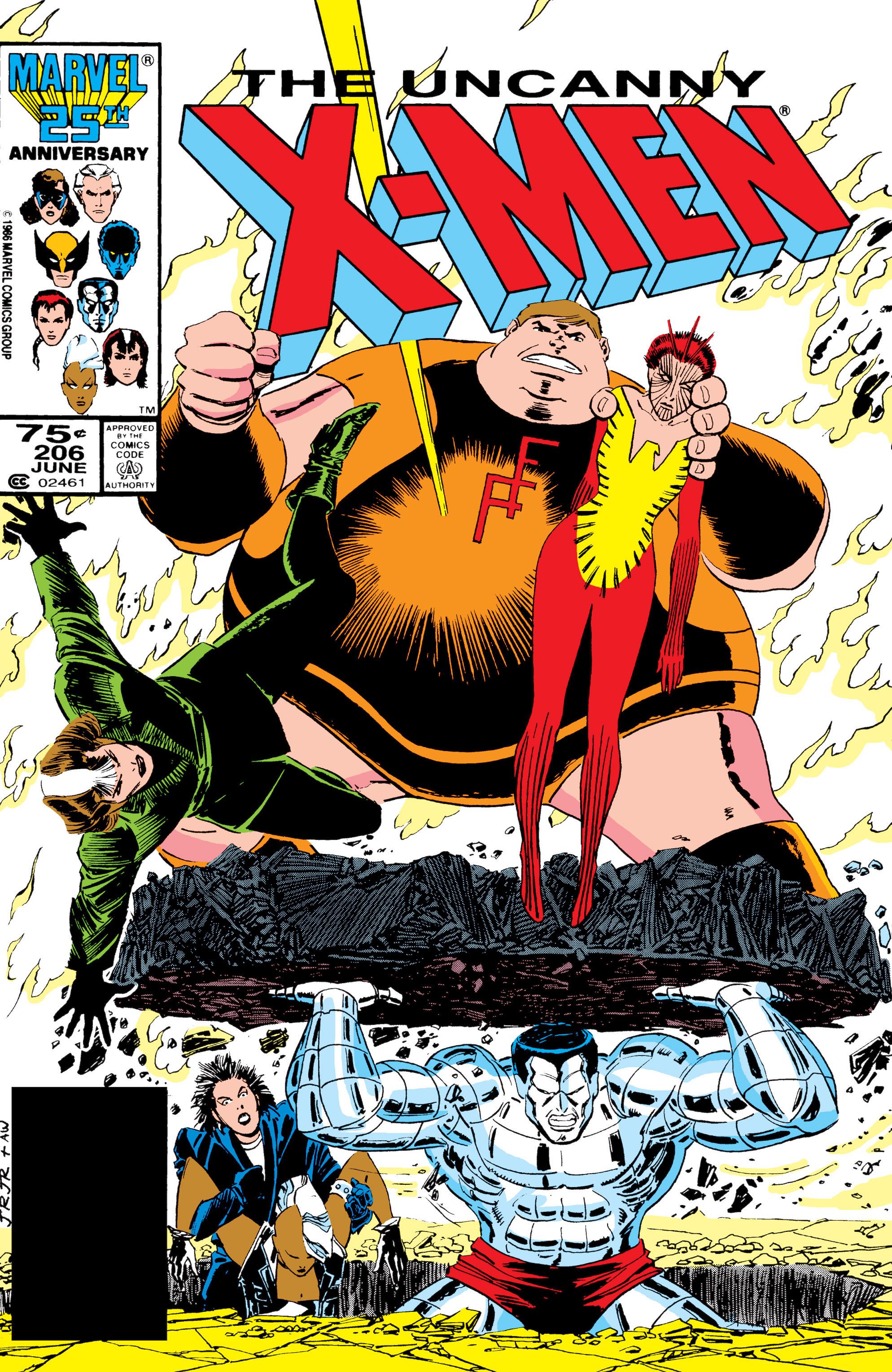 Uncanny X-Men (1963) 206 Page 1