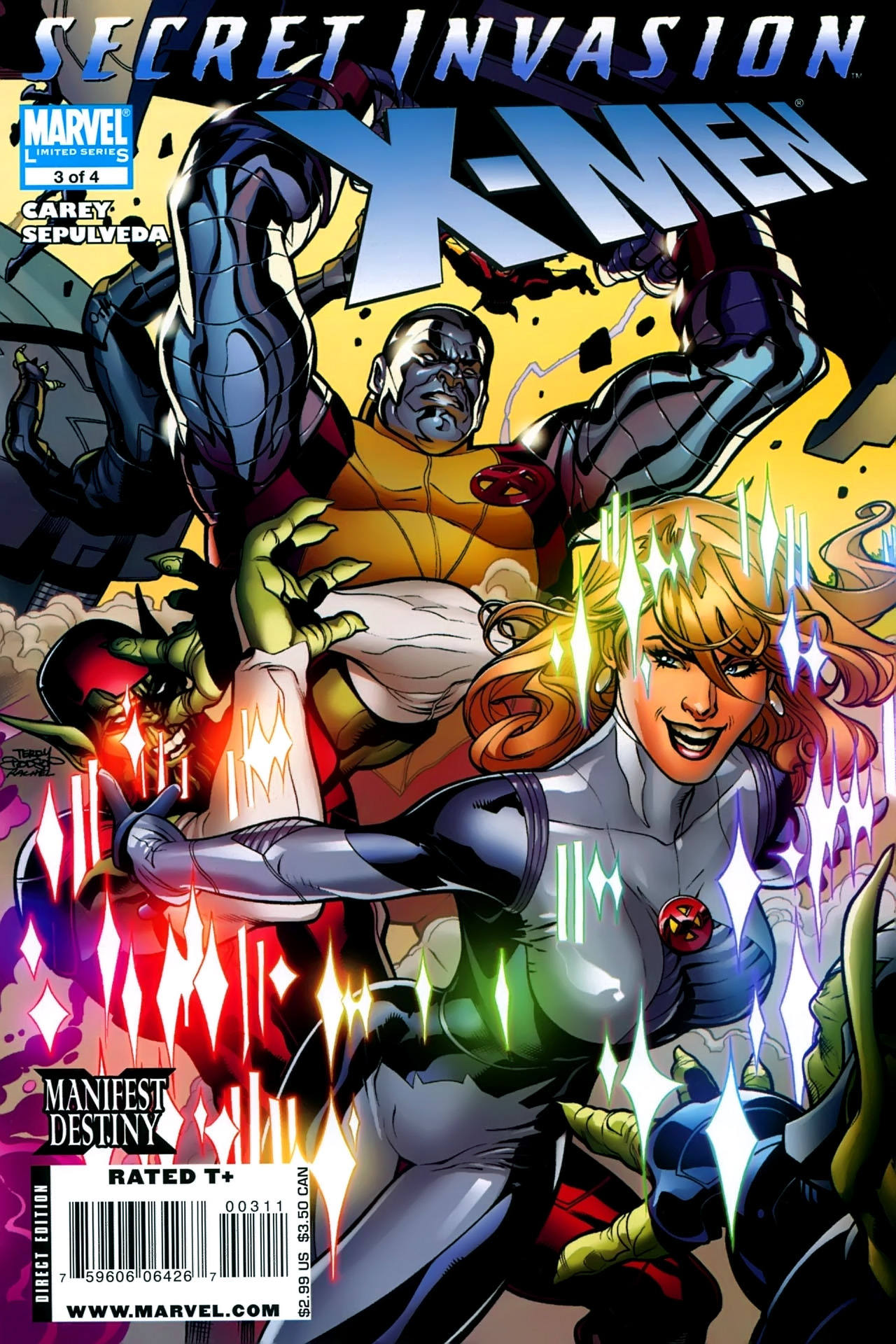 Read online Secret Invasion: X-Men comic -  Issue #3 - 1
